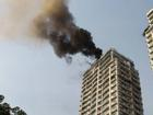Hà Nội: Cháy tầng 25 tòa chung cư trên phố Hoàng Hoa Thám