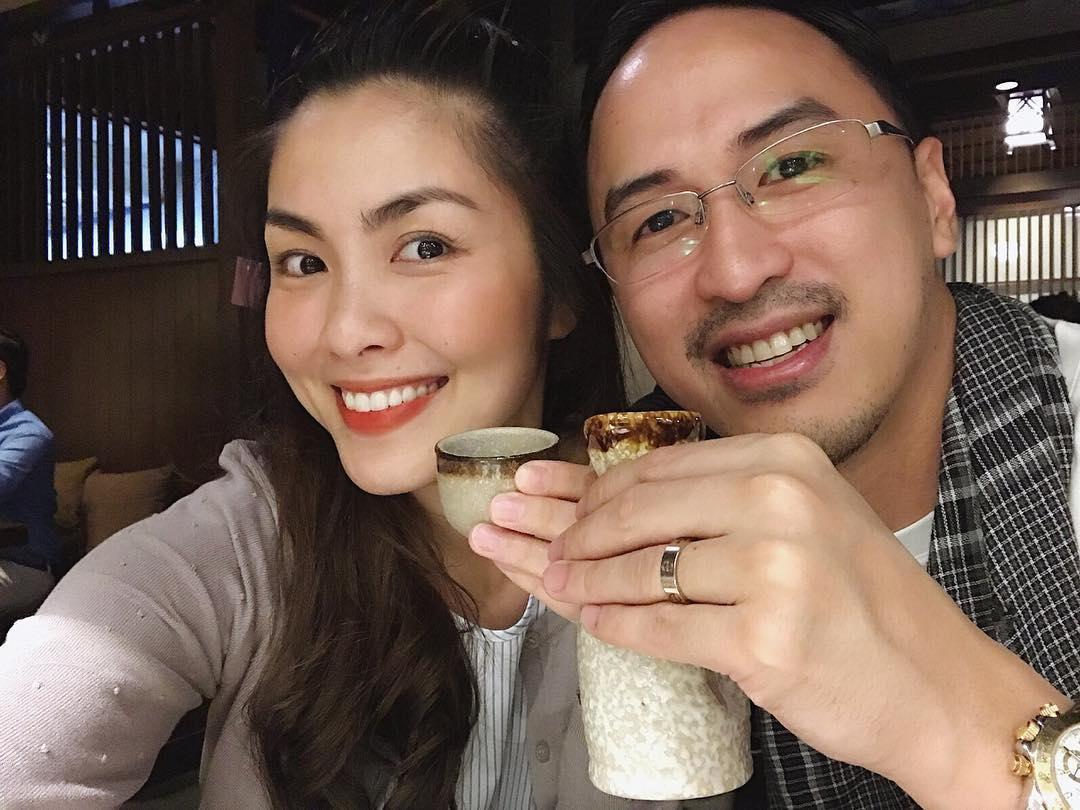 Tin sao Việt: Vợ chồng Tăng Thanh Hà đón Noel hạnh phúc bên nhau-1