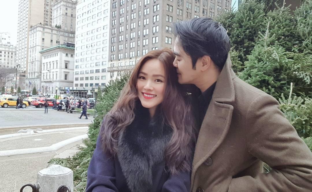 Tin sao Việt: Vợ chồng Tăng Thanh Hà đón Noel hạnh phúc bên nhau-10