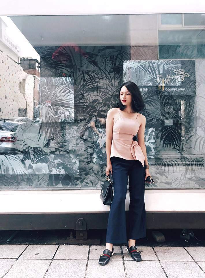 Hương Giang Idol tạo dáng nhanh như tia chớp, không kém các người mẫu nổi danh-5