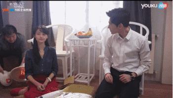 Khi Dương Dương vì không nhịn được mà cười mà làm hỏng cả cảnh quay.