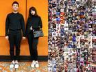 Tin sao Việt: Trấn Thành ghép hàng nghìn bức ảnh cảm ơn Hari Won nhân kỷ niệm 1 năm ngày cưới