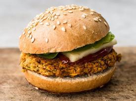 Công thức burger chay dành cho người giảm béo