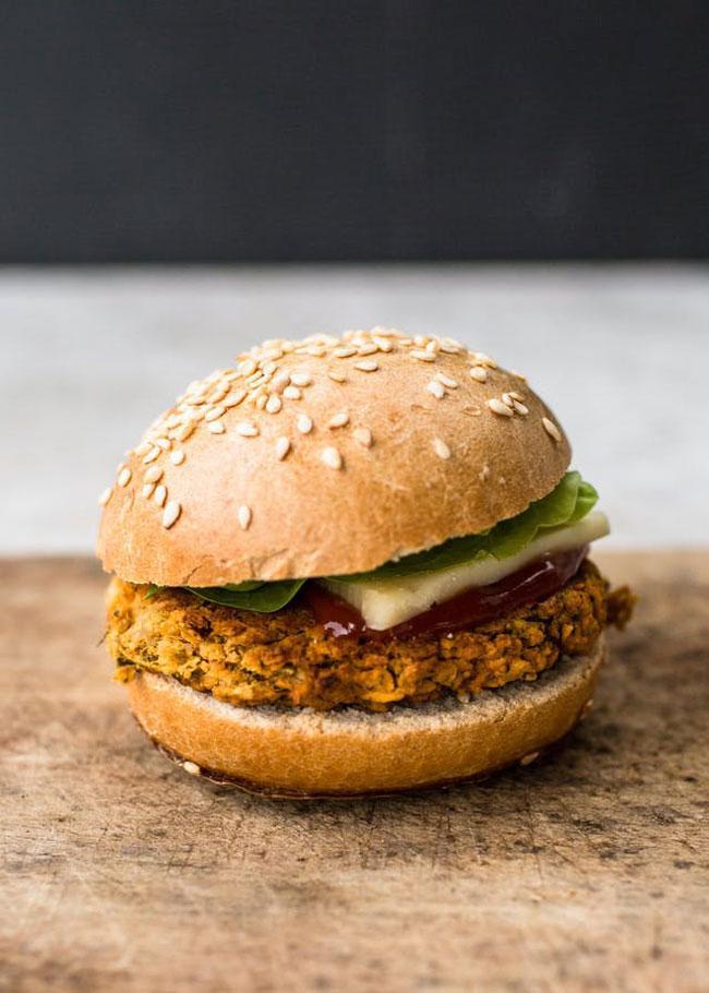 Công thức burger chay dành cho người giảm béo-1