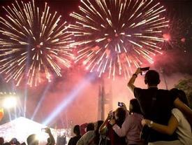 Dịp Tết Nguyên đán Mậu Tuất 2018: Hà Nội sẽ tổ chức bắn pháo hoa tại 30 điểm