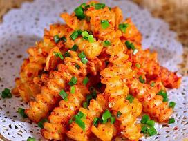 Cách làm món khoai tây cay ăn vặt vạn người mê