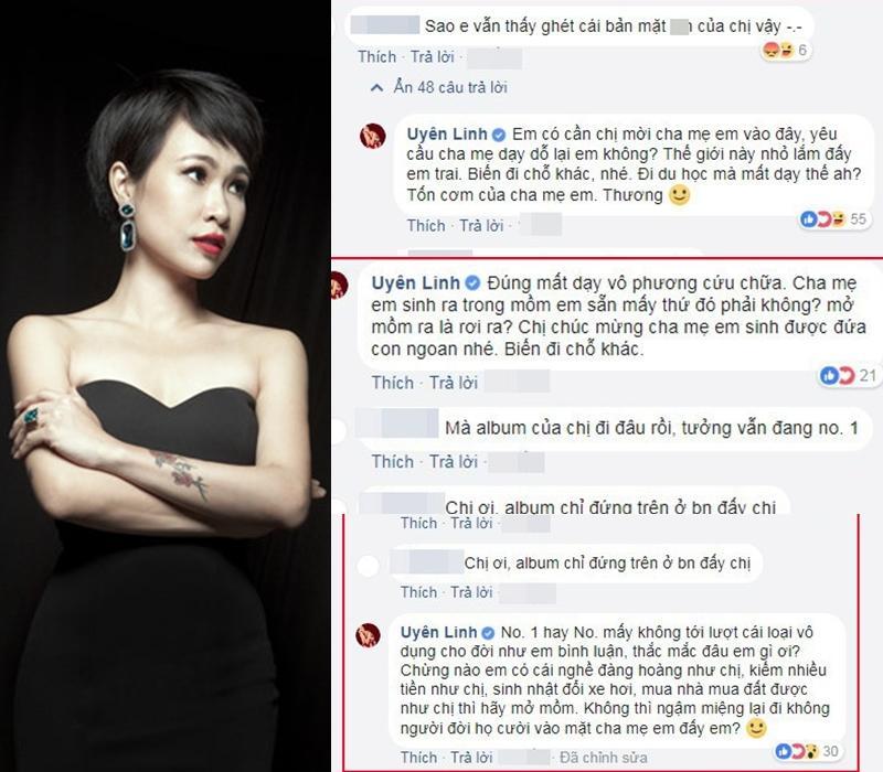 Uyên Linh đáp trả anti-fan: Chừng nào em kiếm được nhiều tiền như chị... thì hãy mở mồm-2