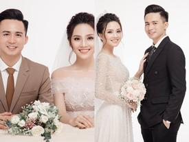 Hé lộ ảnh cưới ít ỏi trước lễ đính hôn của 'Top 10 Hoa hậu Việt Nam' Trần Tố Như và hot boy cảnh sát