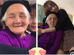 Cô cháu gái lém lỉnh dạy bà ngoại 90 tuổi nói tiếng Nhật đốn tim dân mạng