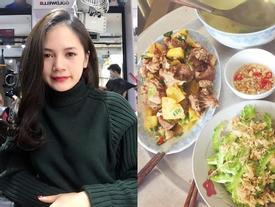 9x xinh đẹp chia sẻ những bữa cơm đầy ắp món ngon, chỉ 25 nghìn đồng/người