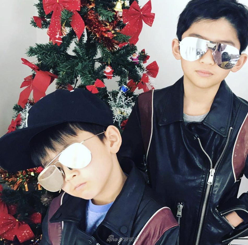Tạ Đình Phong bị chỉ trích khi bỏ bê 2 con trai để đón giáng sinh bên người tình Vương Phi-6