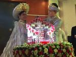 Tiệc thành hôn hoành tráng của Lâm Khánh Chi và ông xã tại Vũng Tàu
