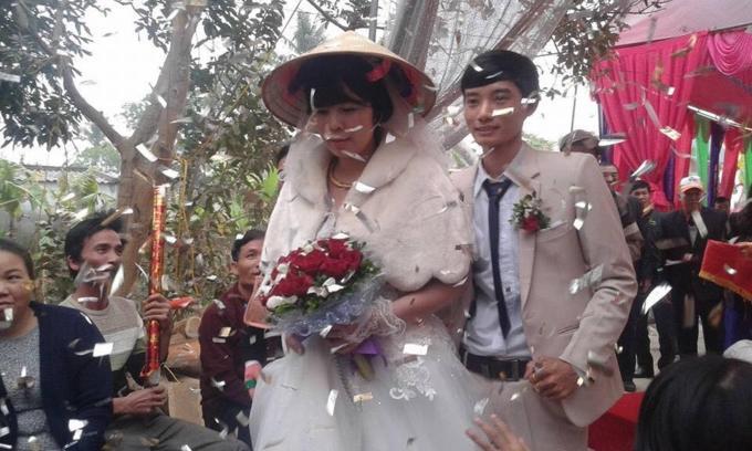 Đám cưới của cặp đôi chồng kém vợ 23 tuổi ở Thanh Hóa gây xôn xao-1