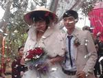 Đám cưới của cặp đôi chồng kém vợ 23 tuổi ở Thanh Hóa gây xôn xao