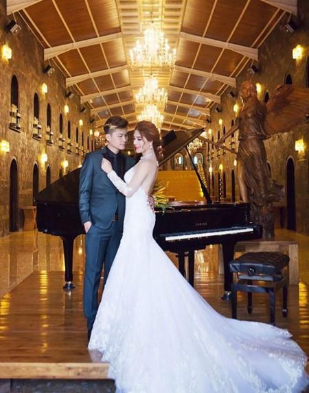 Thay 15 bộ váy từ khi bắt đầu đến lúc kết thúc đám cưới, Lâm Khánh Chi khiến hội chị em điêu đứng-10