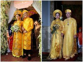 Cùng diện áo dài cưới vàng, mỹ nhân Việt nào đẹp 'đốn tim' nhất?
