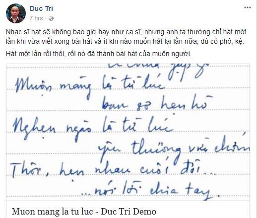 Nhạc sĩ Đức Trí nói gì về ca khúc sát thương nhất Tâm 9 của Mỹ Tâm?-2