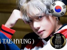 V (BTS) vượt mặt loạt mỹ nam đứng hạng 1 danh sách Top 100 gương mặt đẹp nhất thế giới