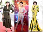 Phong cách 'mặc như không' khiến Tiêu Châu Như Quỳnh lọt top thời trang thảm họa tuần qua