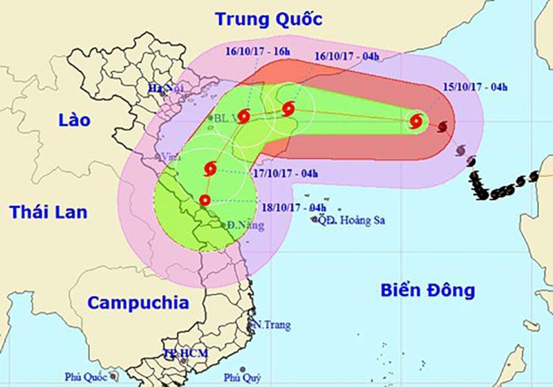 Nhìn lại 16 cơn bão đổ bộ Biển Đông chỉ trong vòng nửa năm 2017 - Điều chưa từng có trong lịch sử-8