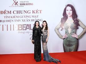 Giáng My- Hồ Ngọc Hà ủng hộ người đẹp The Beauty 2017