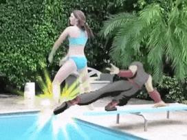 Ninja ra đòn khiến các thanh niên 'vỡ mặt'
