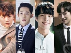 4 mỹ nam thế hệ mới 'khuấy đảo' màn ảnh nhỏ xứ Hàn 2017