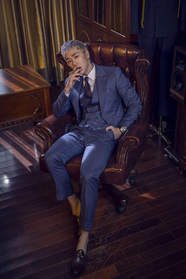 Hot girl - hot boy Việt: Kiên Hoàng thay đổi phong cách 180 độ-6