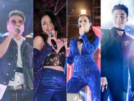 Mỹ Tâm, Sơn Tùng đốt cháy đêm nhạc mừng năm mới