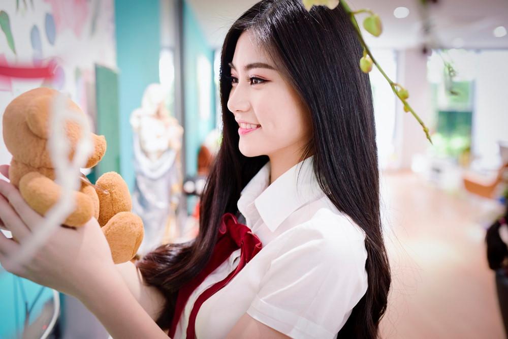 Miss Teen 2017 Nguyễn Bùi Nam Phương: Sẽ dùng tiền thưởng làm từ thiện-2