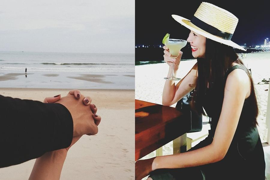 Nghi vấn siêu mẫu Thanh Hằng tận hưởng kỳ nghỉ lễ bên bạn trai-1
