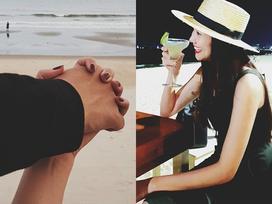 Nghi vấn siêu mẫu Thanh Hằng tận hưởng kỳ nghỉ lễ bên bạn trai