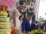 Vợ 1m65, chồng 80cm gây xôn xao trong đám cưới cuối cùng của năm 2017