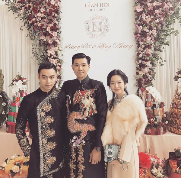 Lộ ảnh đám cưới thiếu gia thứ 2 Tập đoàn Tân Hoàng Minh, Seung Ri của Big Bang có mặt chúc phúc-4