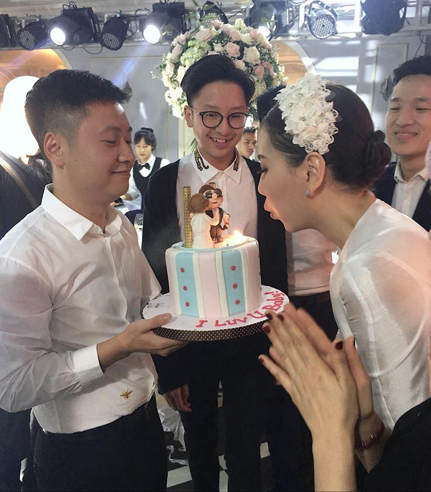 Hot girl thời tiết Mai Ngọc bất ngờ khi được ông xã tổ chức sinh nhật hoành tráng-1