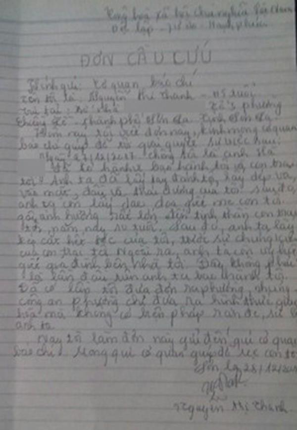 Sơn La: Bất chấp con trai 10 tuổi đứng trước mặt, chồng vẫn đánh đập và cắt trọc đầu vợ-1