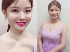 Sao Hàn 2/1: 'Sao nhí' Kim Yoo Jung bất ngờ khoe vóc dáng đẫy đà, gợi cảm ở tuổi 18