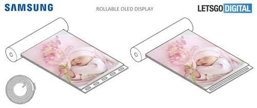 Samsung nộp bằng sáng chế màn hình hiển thị có thể cuộn lại-2