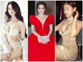Bộ đôi mỹ nhân 10x, 9x sở hữu vòng ngực quyến rũ đến Ngọc Trinh cũng phải dè chừng