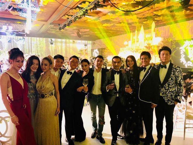 Ái nữ nhà tỷ phú Singapore dự đám cưới thiếu gia Tân Hoàng Minh-1