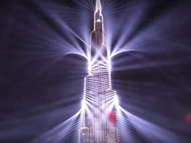 Xem Dubai lập kỷ lục thế giới về chương trình laser hoành tráng nhất