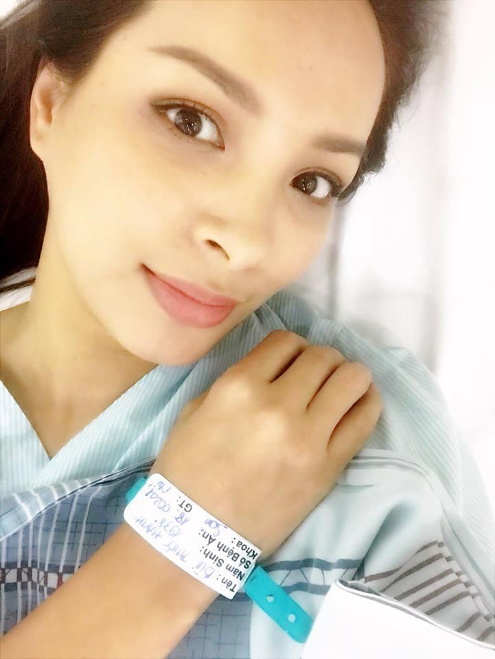 Cựu người mẫu Thuý Hạnh đã phẫu thuật cắt bỏ khối u-2