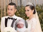 Anh trai ca sĩ Bảo Thy và vợ hot girl hạnh phúc đón công chúa đầu lòng