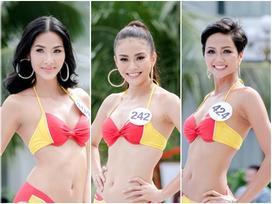 Thí sinh 'Hoa hậu Hoàn vũ' khoe đường cong rực lửa khi trình diễn bikini