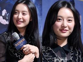 Sao Hàn 3/2: Mỹ nhân 'Hậu duệ mặt trời' Kim Ji Won lộ vẻ mũm mĩm vì tăng cân