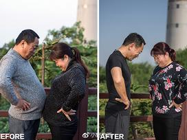 Thân hình đáng ngưỡng mộ của gia đình 'rủ nhau cùng giảm béo'