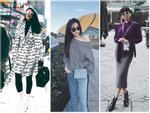 HyunA sexy váy ngắn cũn - Park Shin Hye giản dị đẹp bất chấp nổi nhất street style sao Hàn-11