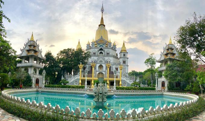 Ngôi chùa đẹp như tranh ở ngoại ô Sài Gòn-1