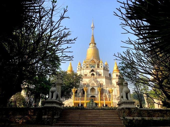 Ngôi chùa đẹp như tranh ở ngoại ô Sài Gòn-2