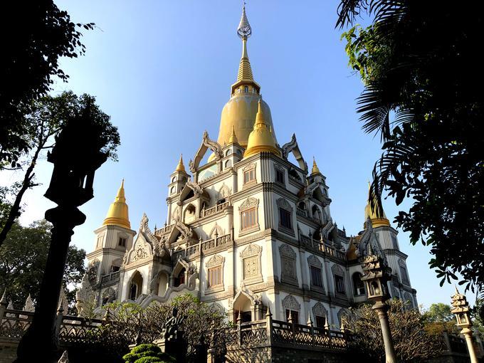Ngôi chùa đẹp như tranh ở ngoại ô Sài Gòn-3